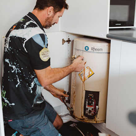 Hot Water System Plumber Near Me